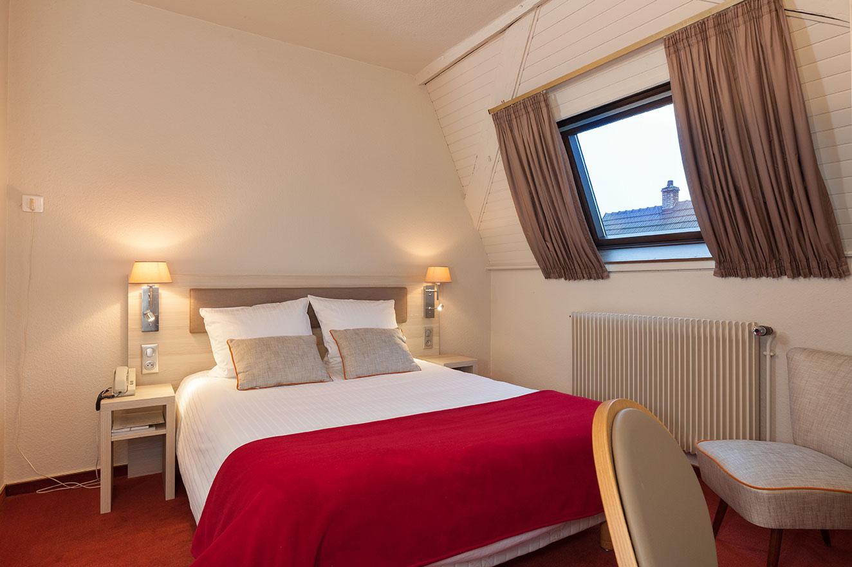 Profitez du cadre authentique de l'Agneau pour passer une nuit d'hôtel en Alsace.